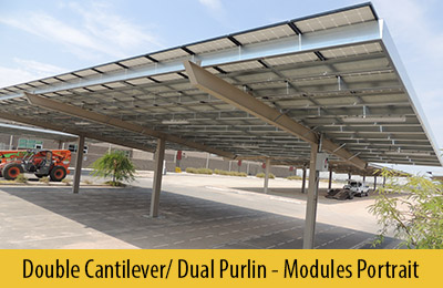 Single Cantilever Single Cantilever ... & Designs: Solar Carport Structures Support Structure for Solar ...