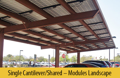 Single Cantilever ... & Designs: Solar Carport Structures Support Structure for Solar ...